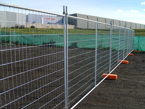 Temporary Fence introduce